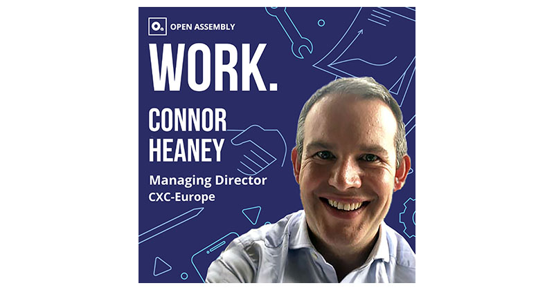 CXC-Europe Managing Director Connor Heaney
